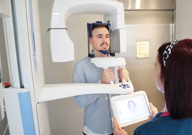 escaner cbct para una cirugia guiada implantes dentales en aviles suarez solis