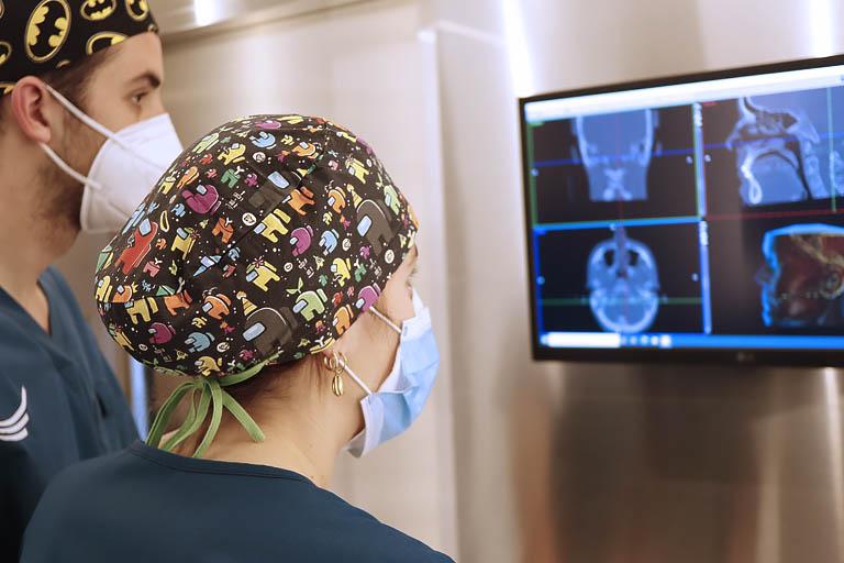 en nuestra clínica dental en Avilés realizamos diariamente impresiones digitales